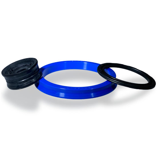 Pneumatic piston seals