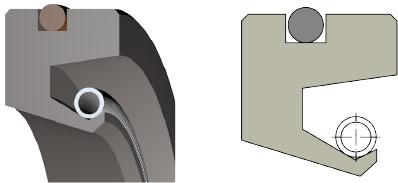 Oil seal OS-W50